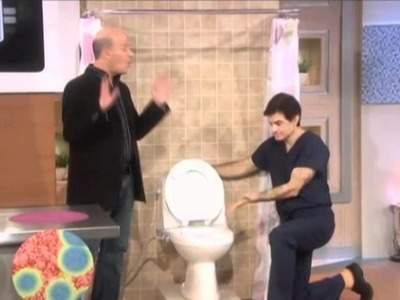 Dr. Oz on washing one's behind