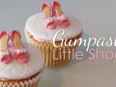 Gumpaste Shoes For Cupcakes Tutorial