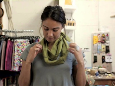How French Women Tie Scarves : Denim & Scarves, Oh My!