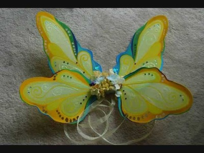 How I Make Fairy Wings