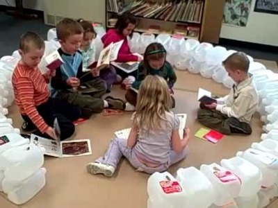 How to Build a Milk Jug Igloo - Midland Christian School