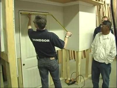How to Install Door Casing