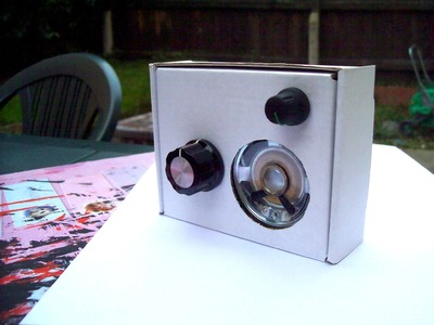How to make a AM Radio from a box