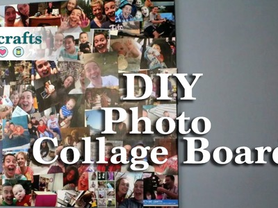 How to make a Homemade Photo Collage Board