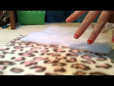 How to make a lap pad!