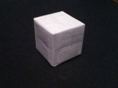 How To Make A Paper Cube (the easy way)