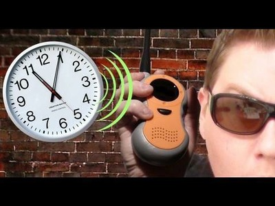 How to make a Spy Clock!