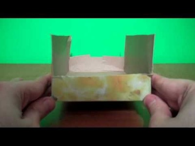 How to Make a T.B.O.U. (Tissue Box Organizing Unit)