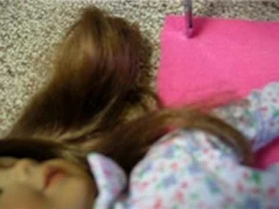 How to make bedding for your american girl dolls