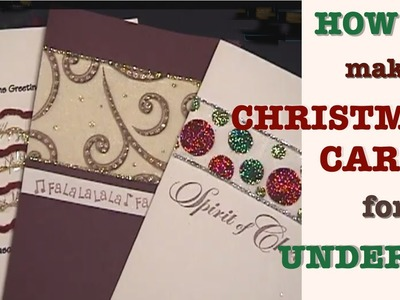 HOW TO: Make Christmas Cards for Under $1