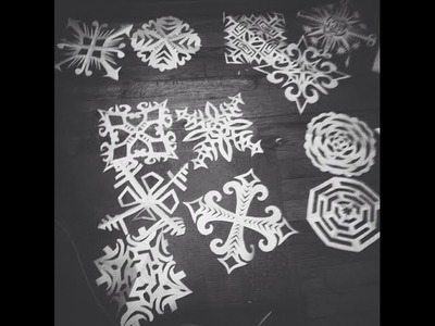 How to Make Cool Paper Snowflakes