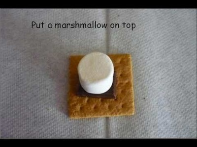 How to make S'mores in the microwave!