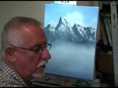 How to Paint Mountains in Oil Paint