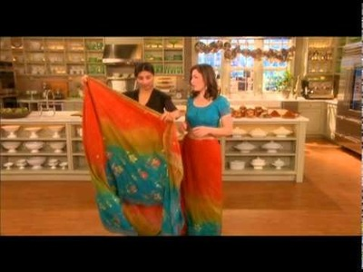 How to Tie a Sari⎢Ayesha Patel⎢Martha Stewart