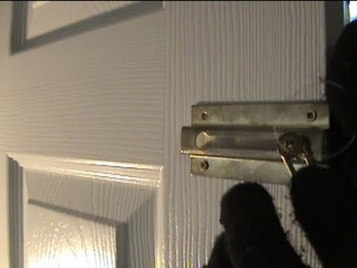 How to Unlock a Door in case of an Emergency!