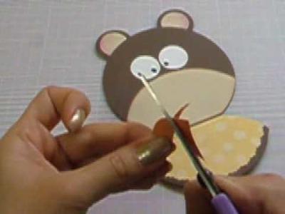 Ku Ku CARD Baby Bear (Bebe Oso)