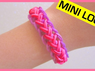Mermaid Braid Rainbow Loom Bracelet on  Mini Loom