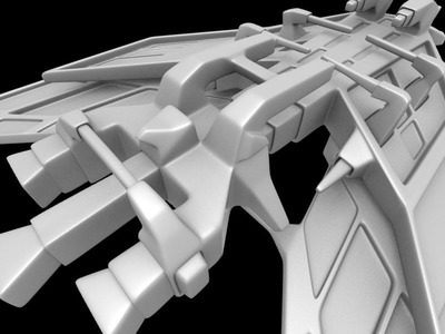 Modeling A Spaceship In Blender Part 1
