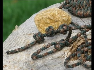 Paracordist's how to tie a celtic button knot (Single strand Turks Head stopper knot)