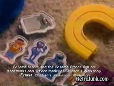 Playskool Ad- Sesame Street (1991)