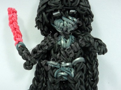 Rainbow Loom Darth Vader Charm Action Figure