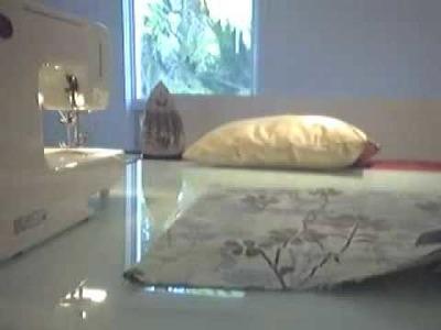 Sew a pillowcase - PART 2