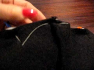 Sewing tutorial:Reversible Jacket.wmv