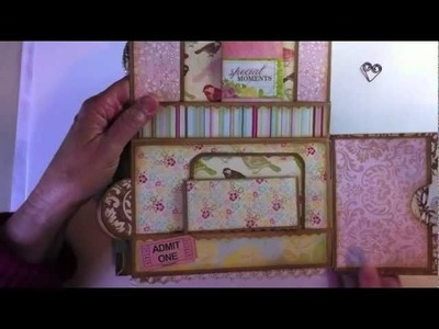 Shabby Chic Paper Bag Mini Album