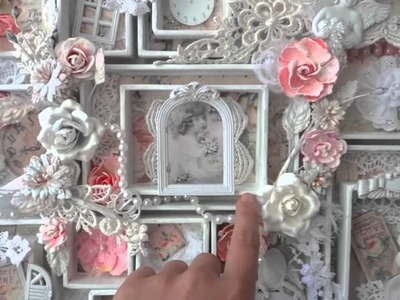 Shabby Tea Thyme Frame Configuration Box - Prima Designer's Day
