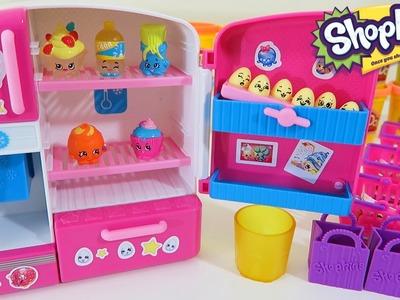 Shopkins So Cool Fridge Playset Exclusive Shopkins & Mini Shopkins Eggs + 3 Shopkins Blind Baskets!