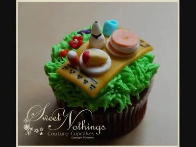 SIxth Cake- Spring cupcakes