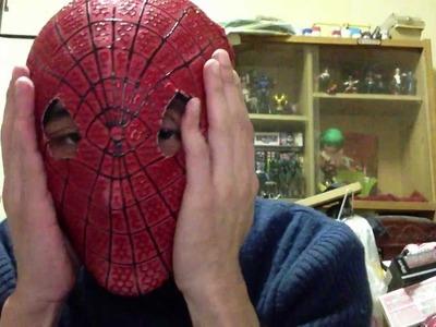The Amazing Spiderman mask replica