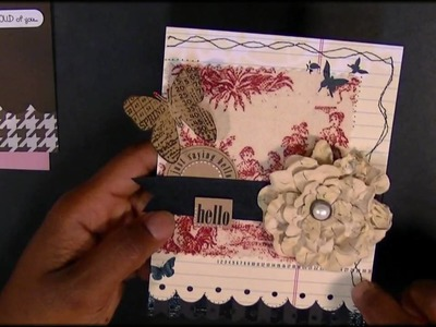THE CUTTING CAFE. .FABRIC ON CARDS