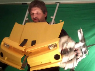 """Torso"" Transforming Bumblebee Costume (episode 4)"