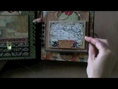 Travel Mini-Album 6x6 World Traveler