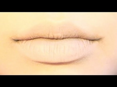 Tutorial : Anime Lips Makeup 1