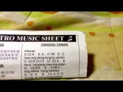 Tutorial Flute Leron Leron Sinta and Tanging Yaman!!!