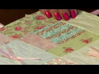 Using Texture Magic on Minkee Fabric