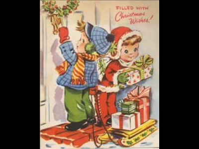 Vintage Greeting Card Images Christmas Vol 2