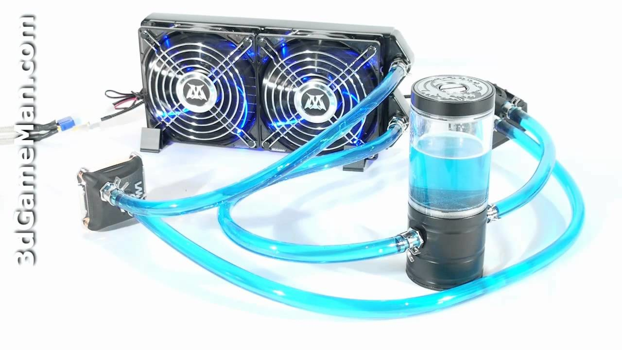 120mm water cooling cpu cooler row heat exchanger radiator with fan for pc hot