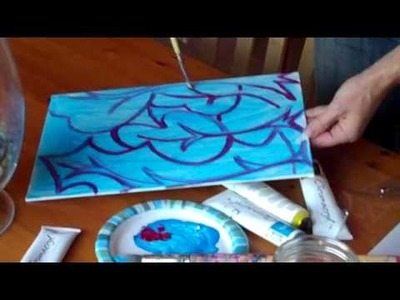 Acrylic Paint Class made Quick & Easy