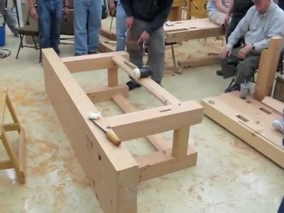 Build a French Workbench in Douglas Fir
