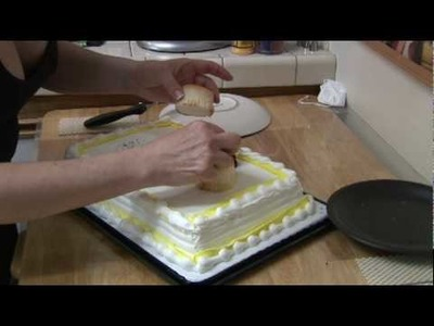 Cake Decorating : Decorating Ideas for Sheet Cakes