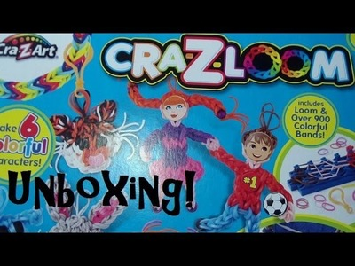 Cra-Z-Loom Cra-Z-Characters Kit Unboxing! (Band Buddies)