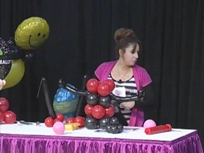 Creative Balloon Decorating with Carmen Ballering