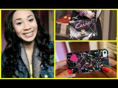 D.I.Y Carrie Diaries Iphone Case!
