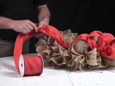 Deco Poly Mesh Make A Wreath Video