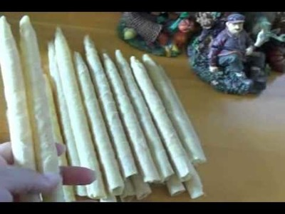 Ear Candling- Making the Candles, and Going Through the Procedure