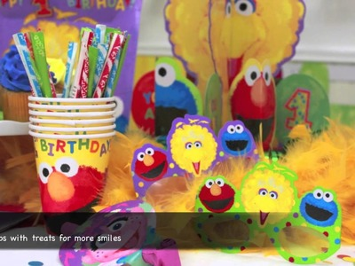 Elmo's First Birthday Party Supplies