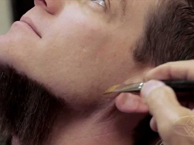 Facial Hair Application - How to Make a Fake Beard - PREVIEW